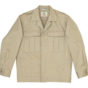 綿4つポケットジャンパー M2300 上 ブロンズ
