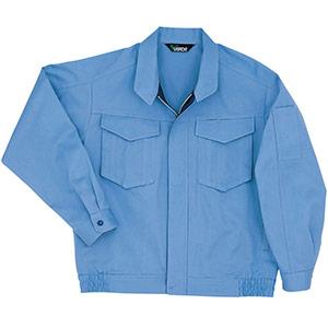 男女共用 綿ブルゾン G363上 ライトブルー