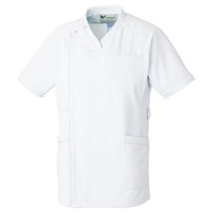 ベルデクセル 男性用スクラブ VEMG220上 ホワイト