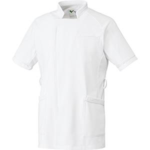ベルデクセル 男性用ジャケット VEMG140上 ホワイト×ホワイト