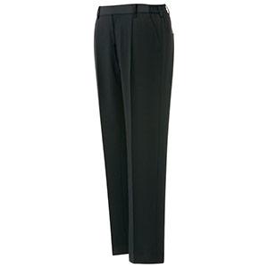 ベルデクセルフレックス 男女共用イージーフレックスパンツ VE120下 ブラック (裾上げ自由自在)