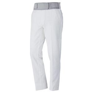 MIDORI PF1 二重織ストレッチ裏起毛パンツ GMBS008 0000 ホワイト