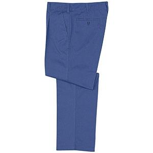 混紡男子スラックス M5603 下 ブルー