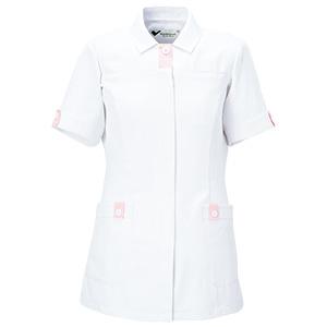 ベルデクセル 女性用チュニック VEM45上 ホワイト×ピンク