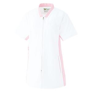 ベルデクセルスクラブ 男女兼用 VEM85 上 ホワイト×ピンク (SS〜4L)