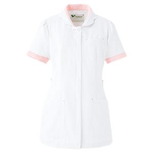 ベルデクセル 女性用チュニック VEM95上 ホワイト×ピンク