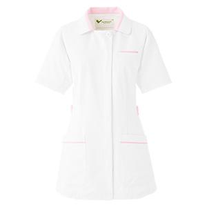 ベルデクセル 女性用チュニック VEM115上 ホワイト×ピンク