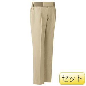 女性用楽腰パンツセット VEL502下 カーキ (7〜17号)