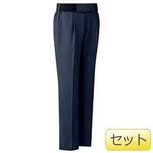 女性用楽腰パンツセット VEL507下 ネイビー (7〜17号)