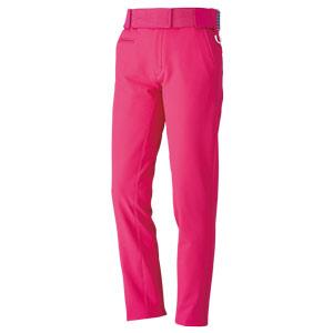 MIDORI PF1 二重織ストレッチ裏起毛ウィメンズパンツ GWBS009 0085 ピンク