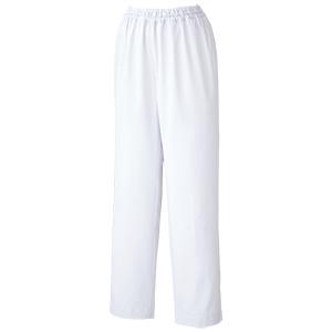 白衣 女子スラックス WH07 下 ホワイト
