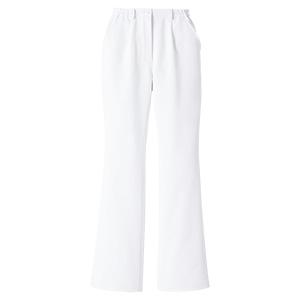 ベルデクセル 女性用イージーフレックス ブーツカットパンツ VEM20下 ホワイト
