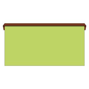 安全掲示板 312−22 本体のみ・U字金具6個付 中