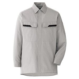 ベルデクセル コットン 綿100%シャツ VES2401 上 シルバーグレー