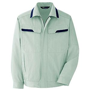 ベルデクセルフレックス 綿100%ブルゾン VES2396上 ライトグリーン