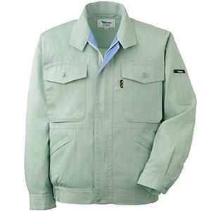 抗菌防臭 ペア長袖ブルゾン GS2306 上 グリーン