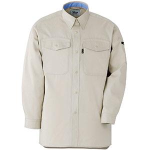 抗菌防臭 ペア長袖シャツ GS2310 上 アイボリー