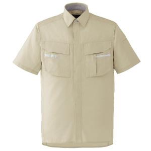 ベルデクセルフレックス 半袖シャツ VES40 上 ベージュ