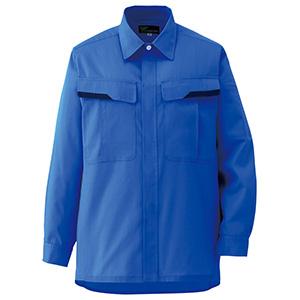 ベルデクセルフレックス 男女兼用 長袖シャツ VES263 上 ロイヤルブルー