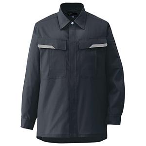 ベルデクセルフレックス 男女兼用 長袖シャツ VES269上 チャコール