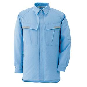 ベルデクセルESD IEC対応高機能 男女ペア長袖シャツ VES283上 ブルー
