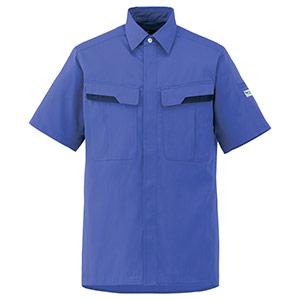 ベルデクセルフレックス 半袖シャツ VES63 上 ロイヤルブルー
