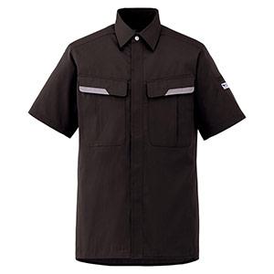 ベルデクセルフレックス 半袖シャツ VES69 上 チャコール