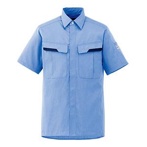 ベルデクセルフレックス 半袖シャツ VES 62上 ライトブルー