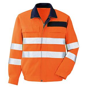 JIS規格適合品 高視認ブルゾン VES 2325上 オレンジ