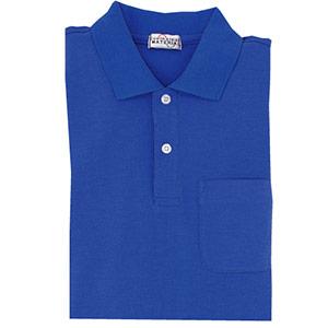 半袖ポロシャツ PS03 上 ロイヤルブルー
