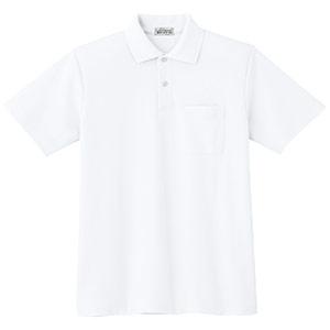 半袖ポロシャツ PS00N 上 ホワイト
