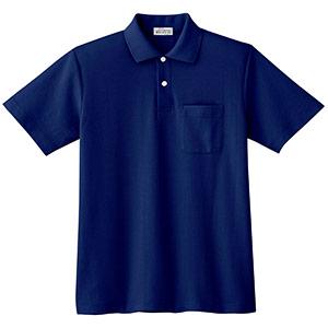 半袖ポロシャツ PS07N 上 ネイビー