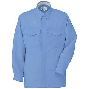 男女共用 長袖シャツ RCS2473上 ブルー