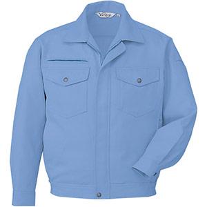 涼風・防汚 ペア長袖ブルゾン RCS2443 上 ブルー