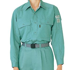 ペア長袖シャツ RCS2126 上 グリーン