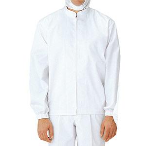 男女共用長袖抗菌ブルゾン MHS 210W上 ホワイト