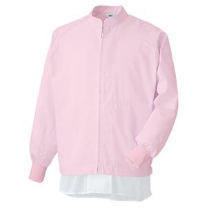 白衣 男女共用 長袖ブルゾン MHS3213P 上 ピンク