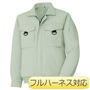 クールファン フルハーネス対応 ブルゾン(ファン別売) WE56 上 ライトグリーン