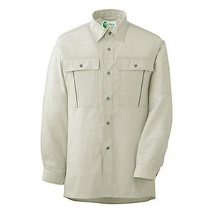 ペア長袖さらりシャツ RCS 2600 上 アイボリー