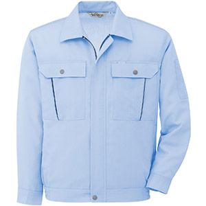 ウインドフリー 清涼長袖ブルゾン RCS2613 上 ブルー