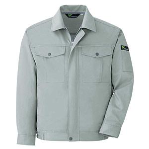 ベルデクセルフレックス エコ静電 T/C 長袖ブルゾン VES2446上 グリーン