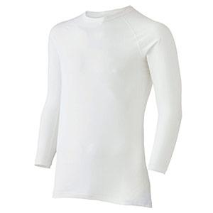 男女共用 長袖Tシャツ クールインナー FTC11W 上 ホワイト