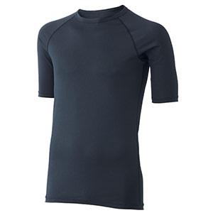 男女共用 半袖Tシャツ クールインナー FTC01BK 上 ブラック