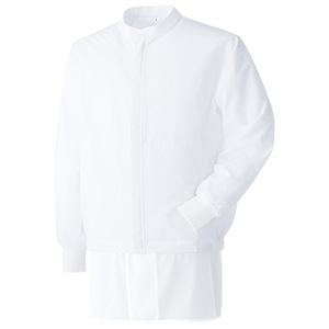 ベルデクセル 男女共用長袖ブルゾン VEHS3202W 上 ホワイト