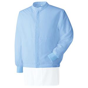 ベルデクセル 男女共用長袖ブルゾン VEHS3202B 上 ブルー