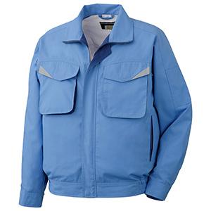 ペア長袖ブルゾン GS2483 上 ブルー