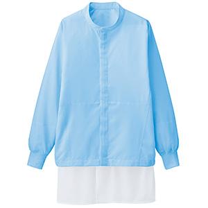 男女共用 長袖ブルゾン VEHS3212B 上 ブルー