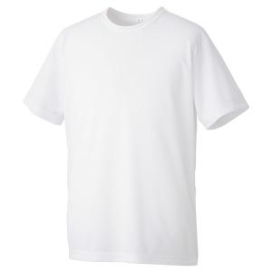異物混入対策 白衣 Tシャツ MT01W上 (ネット付) ホワイト L