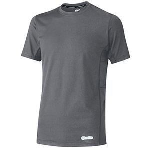 ベルデクセル 男女共用 半袖クールコアTシャツ VEC11上 グレー