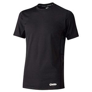 ベルデクセル 男女共用 半袖クールコアTシャツ VEC19上 ブラック